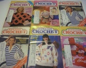 Vintage Quick and Easy Crochet Magazines