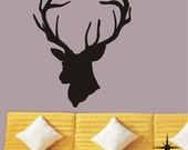 Cool 43by35inches deer----Removable Graphic Art wall decals stickers home decor