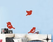3 Little Birds----Removable Graphic Art wall decals stickers home decor