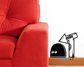 NEW Cute mouse home----Removable Graphic Art wall decals stickers home decor