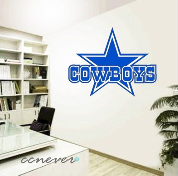 dallas cowboys sports game removable graphic art wall decals