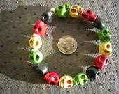 10.00  dollar  bracelet---RASTAFARIAN  BRACELET---size  both are large