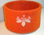 ON SALE Felted Wool Bowl was 49 USD now 29
