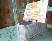 vintage industrial decor // vintage 1960s industrial photo, card, sign display