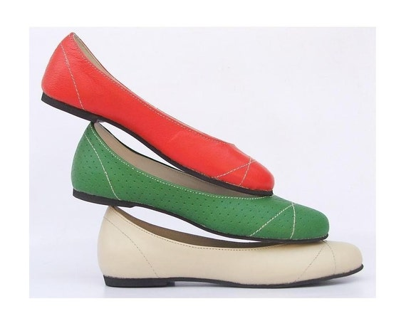eco friendly leather flat summer shoe by extraseed on etsy