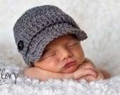 Baby Boy Newsboy Hat RUSH Priority Shipping