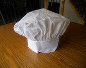 RESERVED for Paige - 5 Custom White Chef Hat - Personalized