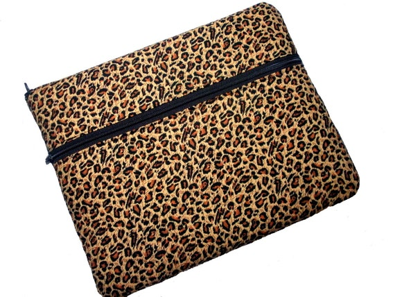 Personalized iPad 3 case, iPad 2 case, the new ipad case in leopard animal print
