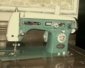 Vintage Japanese Sewing Machine Manual -- Fleetwood