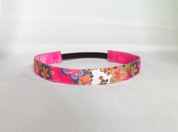 Pink Mod Non-Slip Headband