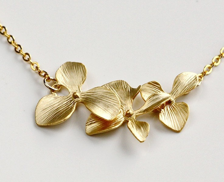 New Fashion 1pc Jewelry Gold Pendant Floating Bead Charms European Orchid Fit Pandora Charm Bracelet