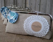 custom : bridesmaid gifts, personalized clutches