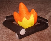 CLEARANCE Felt Campfire Play Set