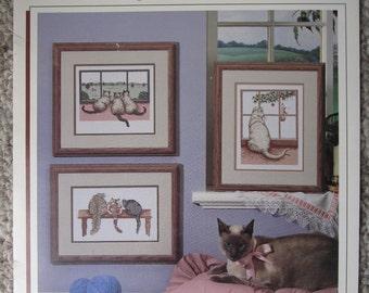 Cat Tales - Cross Stitch Pattern Book
