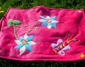 Flowers&Butterfly Snuggle Blanket for Babies/Toddlers/Kids