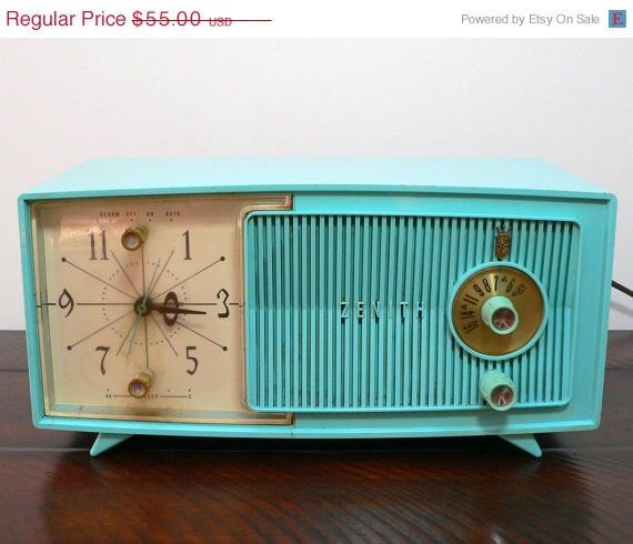 "Free: Zenith AM/FM Dual Alarm Clock Radio Z124B ""Relist ... |Zenith Clock Radio"