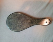 spanking paddle, scratch and dent