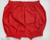 Red Bloomers - Size 6m