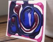 Aceo Original Art Card, Acrylic and PVA glue
