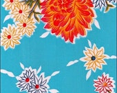 Oilcloth By The Yard Mum Light Blue