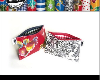 DIY Oilcloth Pouch Kit