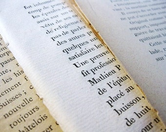 French Book Pages