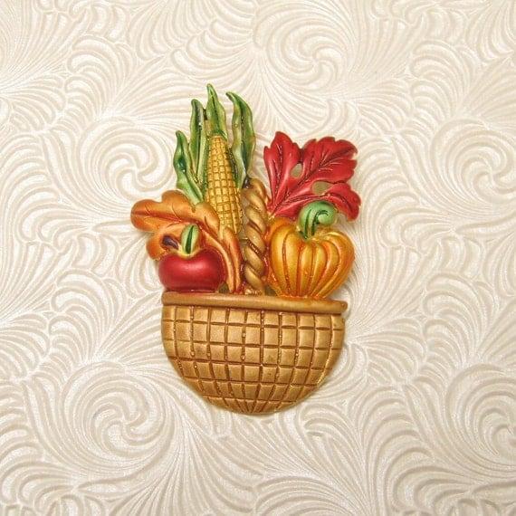 Harvest Thanksgiving Brooch P4100