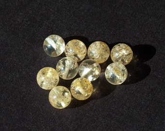 Natural Baltic Amber beads - 10mm Smooth Round Beads - price for one bead
