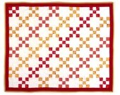 Checkered Past Mini Quilt by Doris Schwartz