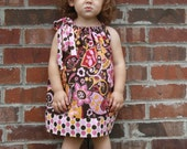 Child Pillowcase Dress in any fabric in my shop (sizes 0-8)