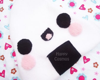 Onigiri Zipper Pouch - Pencil Pouch, Pencil Case, School Supplies, Make Up Bag, 3DS Case, Phone Case, Coin Purse