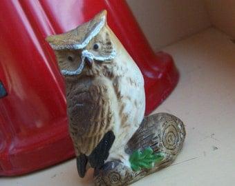 little napcoware owl figurine
