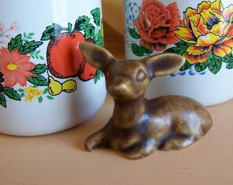 itty bitty deer  figurine
