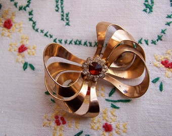 jewelry by jordan bow brooch