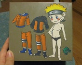 Naruto Magnetic Dress Up Doll