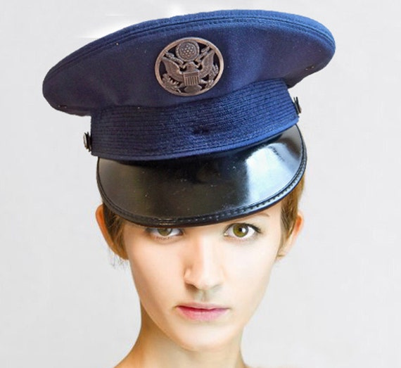 Stylin' U.S. Air Force Dress Hat - Great Prop, Costume or Make Your Own Fashion Statement