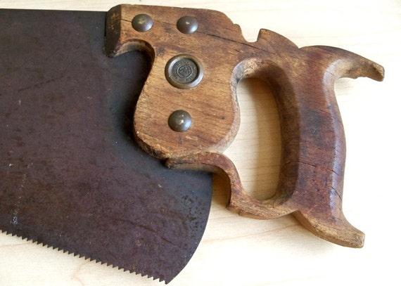 """1918-1940 Disston No. 7 Saw - 26"""" Panel Saw"""