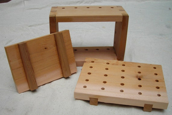 Wooden (Cedar) Tofu Press