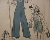 Vintage Hollywood Girls Pattern