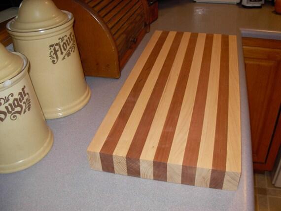 large cherry/ash cutting board