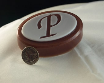 Monogrammed Soap in initial P