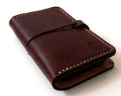 Hand-Stitched iPHONE 4 / 4s WALLET with Silicone Case (Free Monogramming)
