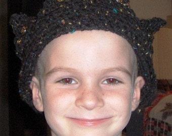 Jughead Beanie Hat Crochet Pattern Crown hat Teen Adult Size digital download