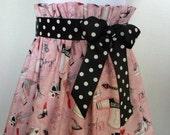 Rock Star Skirt Girls Size 5-6