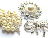 Crystal Rhinestones Flatback Assorted Set for Wedding Decoration Shoe Clip Gift Box Flower Bouquet Scrapbooking  - FREE SHIPPING Worldwide