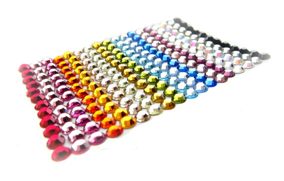 200pcs Crystal Rhinestone SS16 size 4mm Flatback Non hotfix - Pick Your Colours