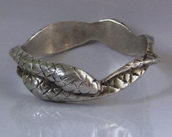 Entwined Snakes Bracelet