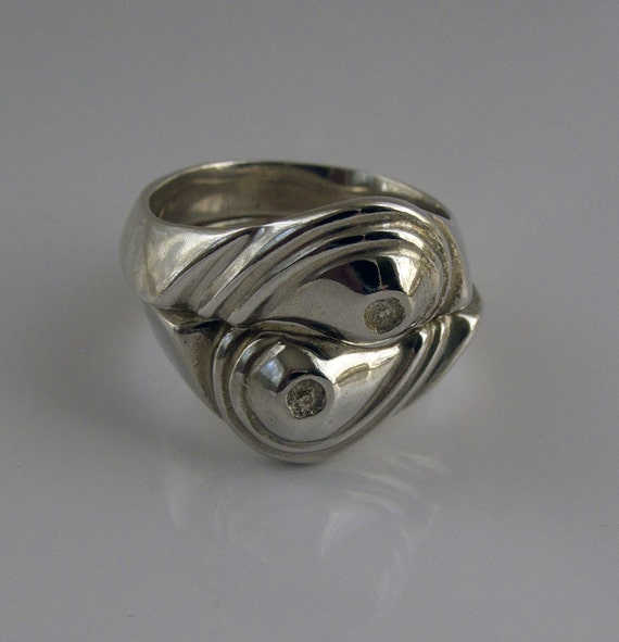 yin yang rings With yin yang wedding rings