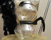 Reserved for Karen (Evergreen) Vintage GE Vacuum Coffee Maker