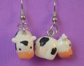 The cow earrings